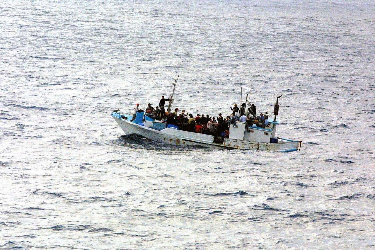 båt flyktingar